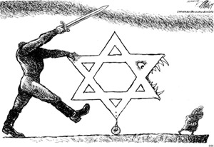 Anti-semitic cartoon